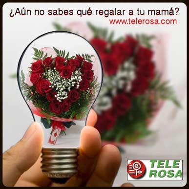 Flores para mamá, domingo día de la Madre