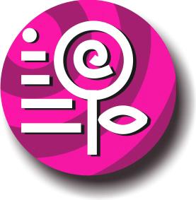 Logo rosa de Telerosa