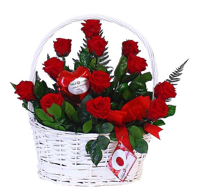 Rosas Rojas eternas