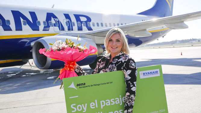 Flores para el pasajero 15 millones en Málaga