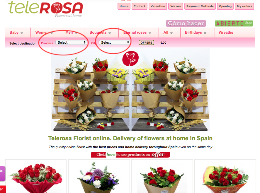 STEP 1 HOW TO ORDER FLOWERS