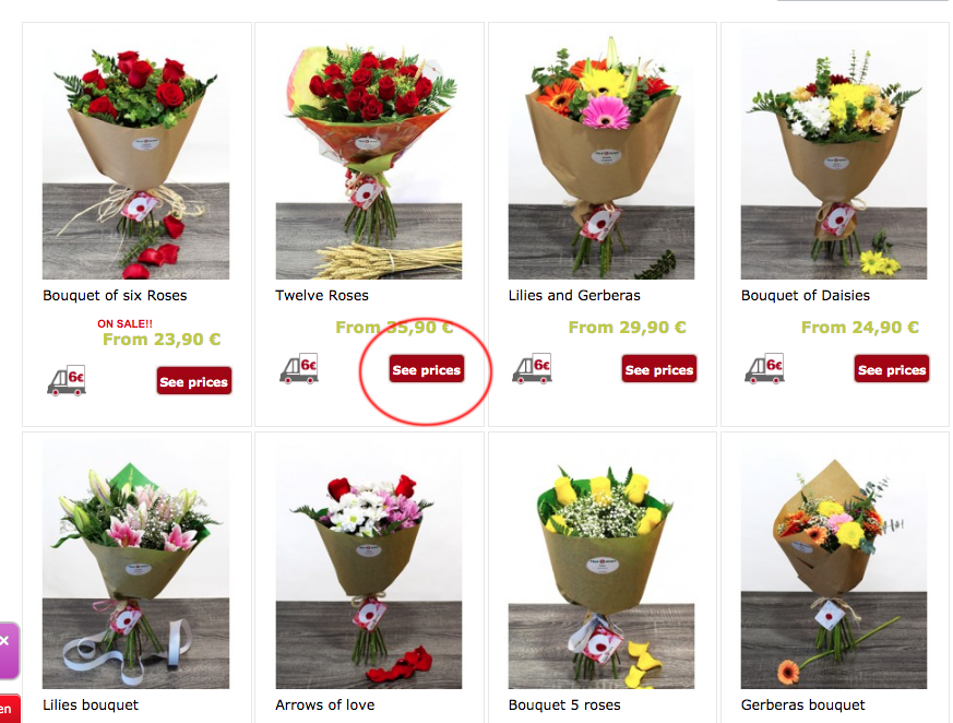 STEP 3 HOW TO ORDER FLOWERS